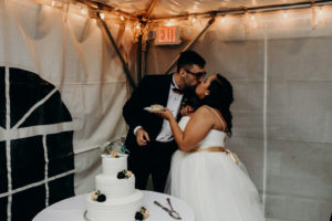 REAL WEDDING   Art Deco Garden Wedding in Virginia   Ambah Parkah Photography   Pretty Pear Bride