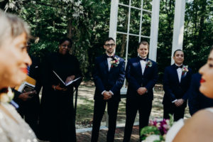 REAL WEDDING | Art Deco Garden Wedding in Virginia | Ambah Parkah Photography | Pretty Pear Bride