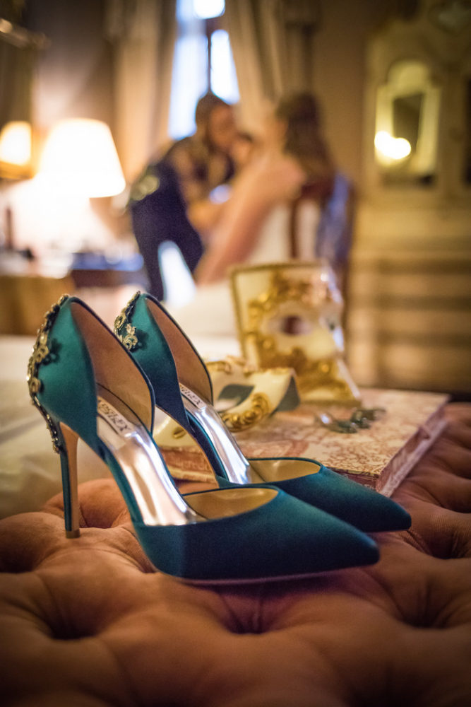 bridal shoes, green heels, badgley mischka shoes,