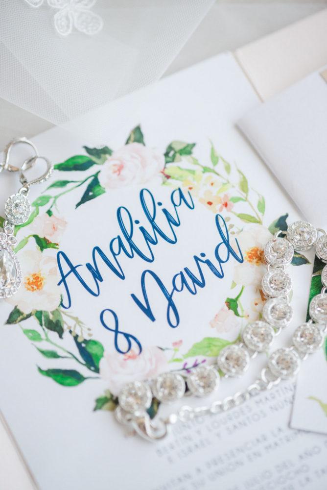 Romantic Garden Wedding, wedding invitations