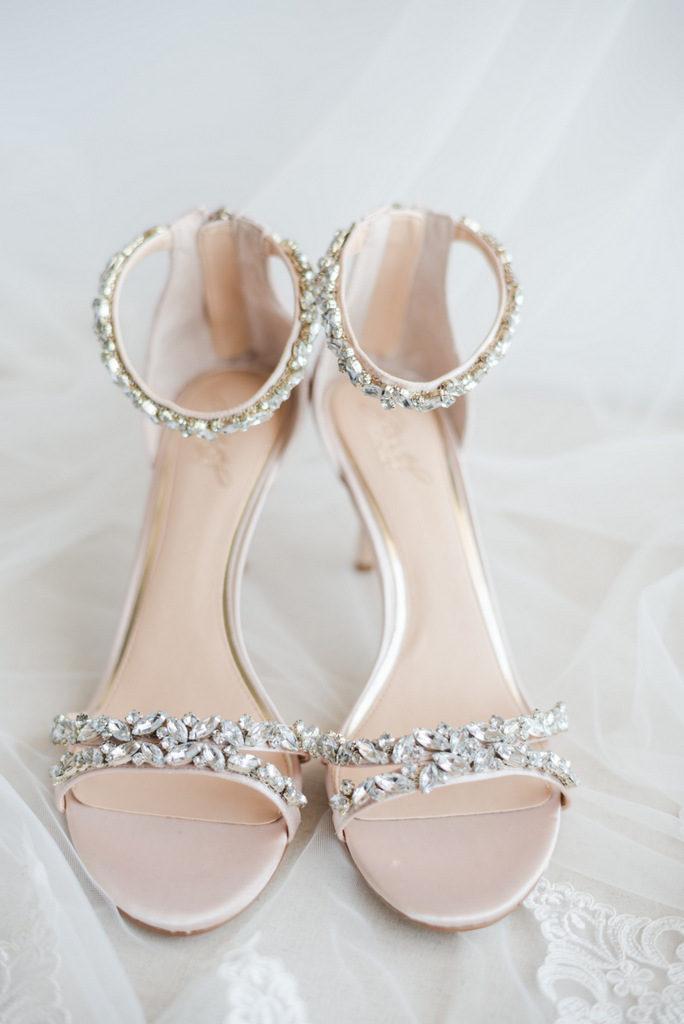 Romantic Garden Wedding, wedding shoes
