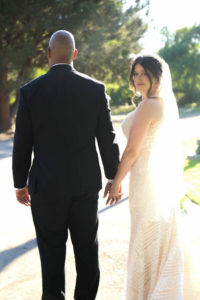 plus size bride and groom