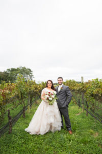 REAL WEDDING: Rustic Chic, Wine and Pizza Themed Fall Wedding in Long Island | Silver Fox