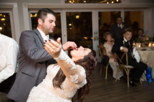 REAL WEDDING: Rustic Chic, Wine and Pizza Themed Fall Wedding in Long Island   Silver Fox   Pretty Pear Bride