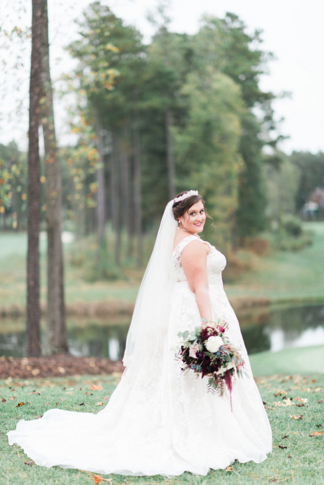 REAL WEDDING | Steel Blue and Cranberry Fall Wedding in Virginia | Elevated Events of VA | Pretty Pear Bride