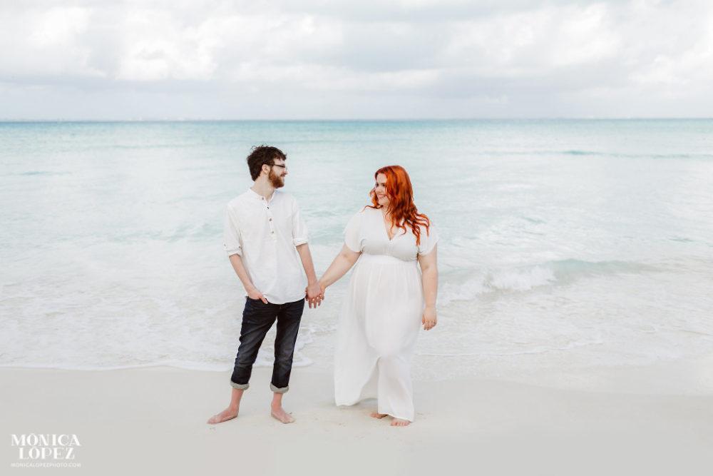 ENGAGEMENT | Mexico Beach Engagement Session | Monica Lopez Photography