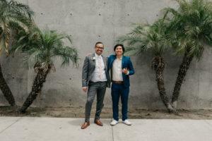 REAL WEDDING | Minimal + Unconventional Long Beach Wedding | Gene Kang Photography | Pretty Pear Bride