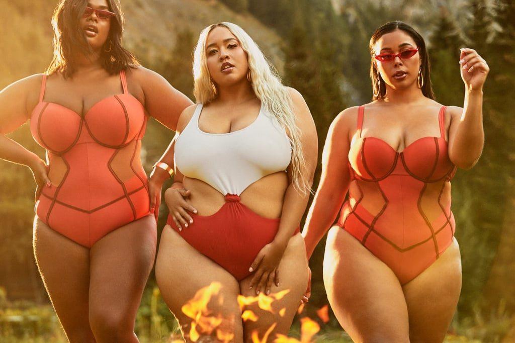 FASHION   GabiFresh + Swimsuits For All New Plus Size Collection   Pretty Pear Bride
