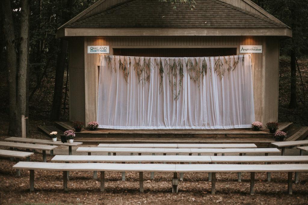 rustic wedding decor, rustic wedding ceremony
