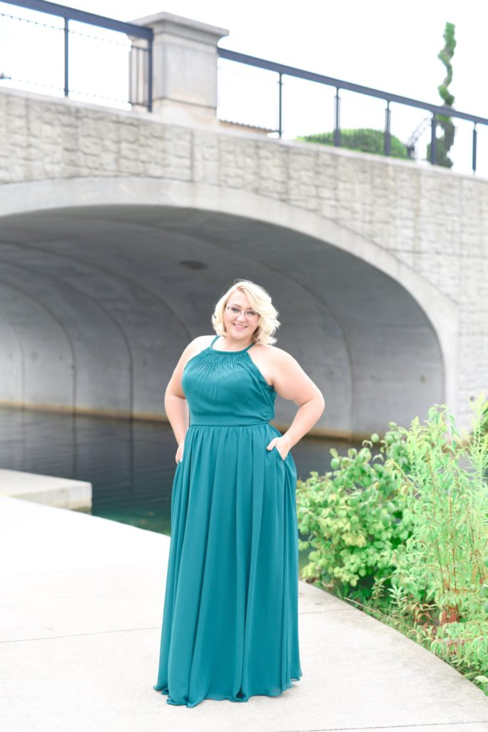 Plus Size Bridesmaid Dresses from Kennedy Blue | Pretty Pear Bride