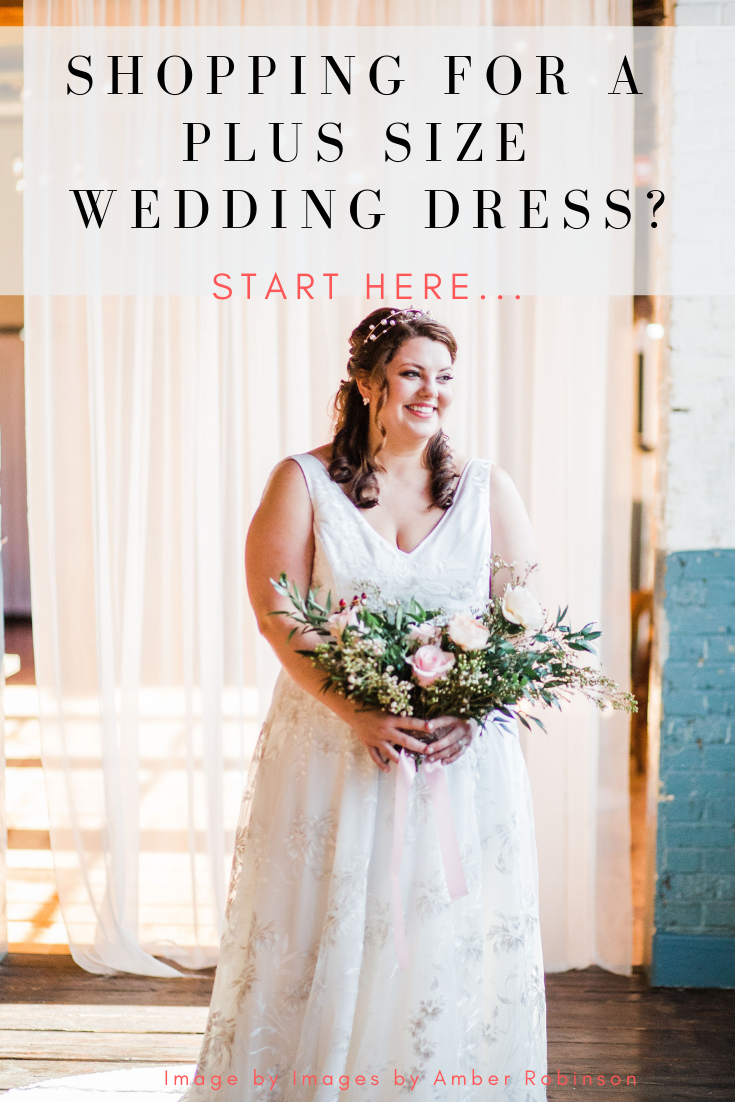 Shopping for a Plus-Size Wedding Dress? Start Here | Pretty Pear Bride
