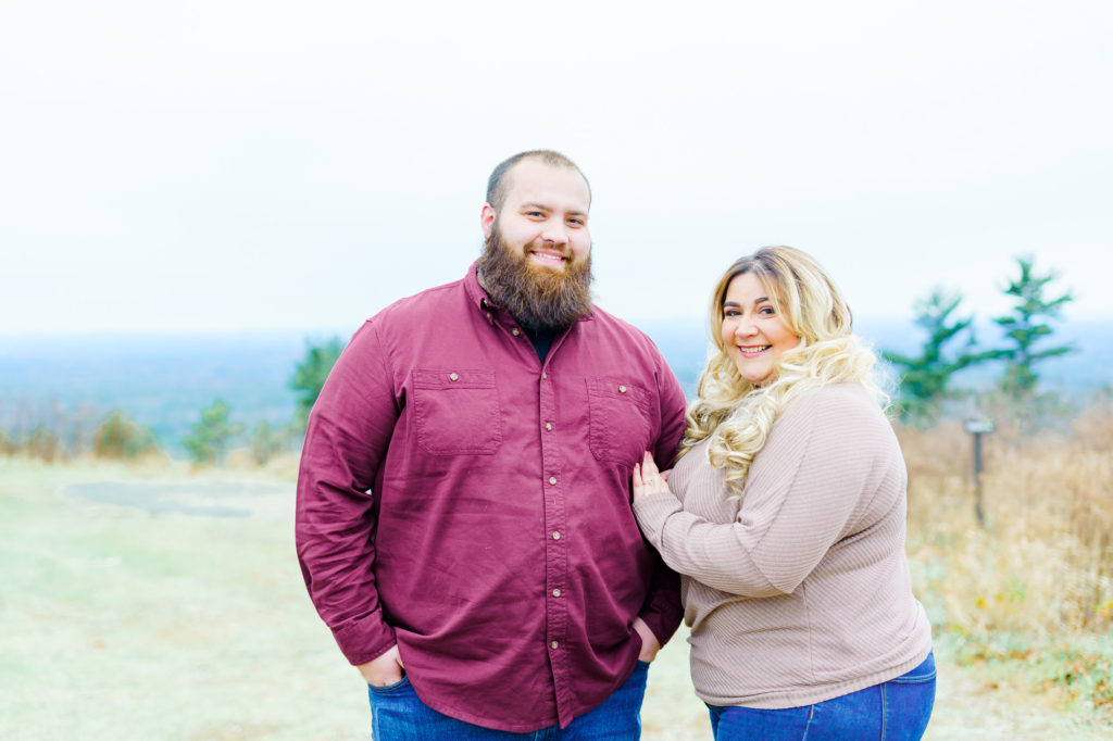 plus size bride, plus size bride to be, plus size groom, engagement