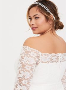 PLUS SIZE BRIDAL COLLECTION   Plus Size Clothing Brand Torrid Launches Wedding Capsule Collection   Pretty Pear Bride