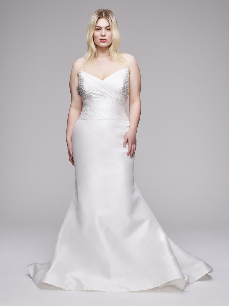plus size wedding dress by anne barge curve collection