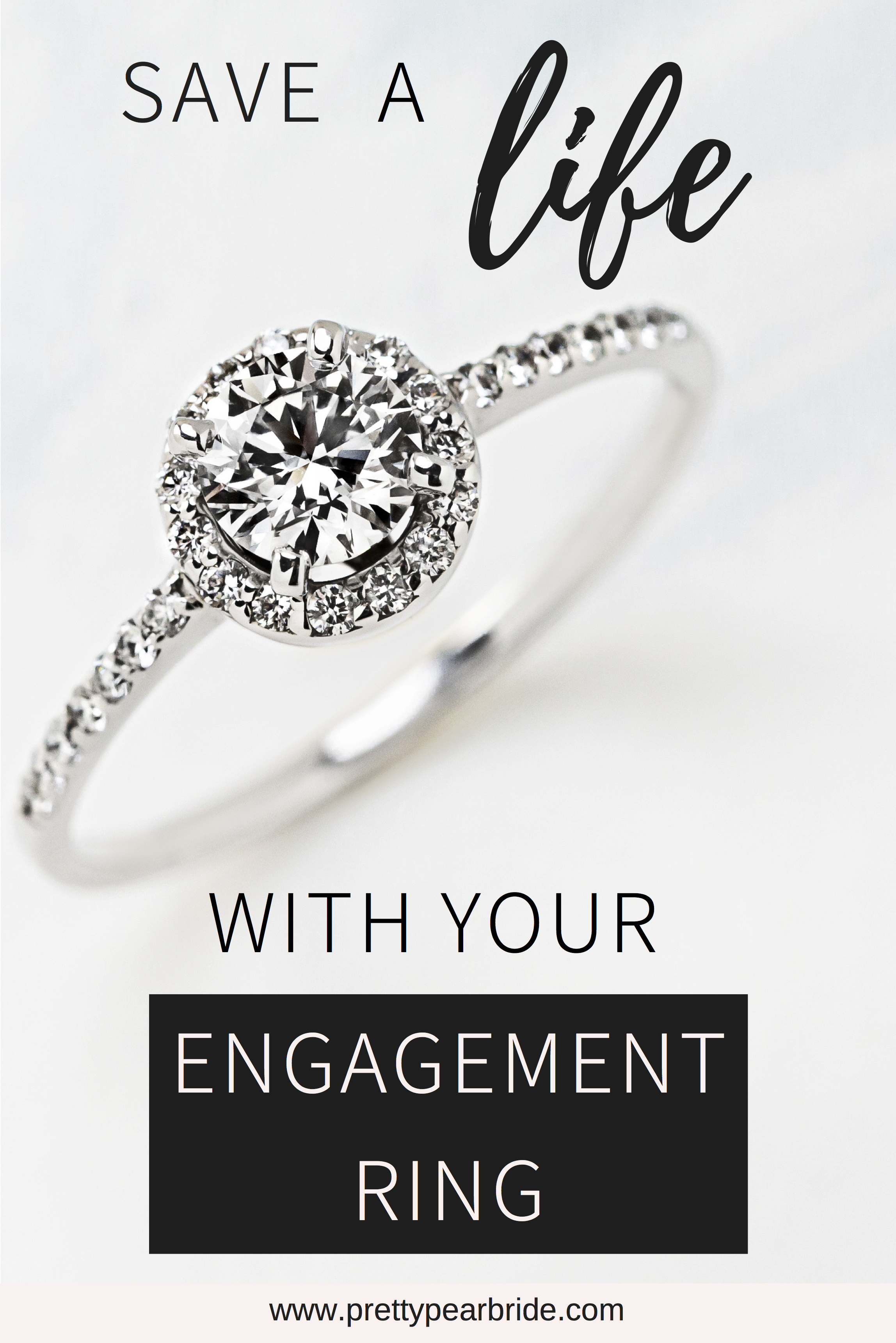 ethical and affordable engagement rings, plus size engagement ring