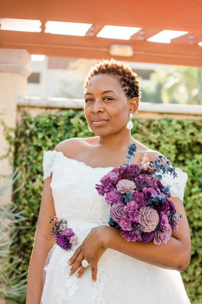 plus size Bridal Portraits
