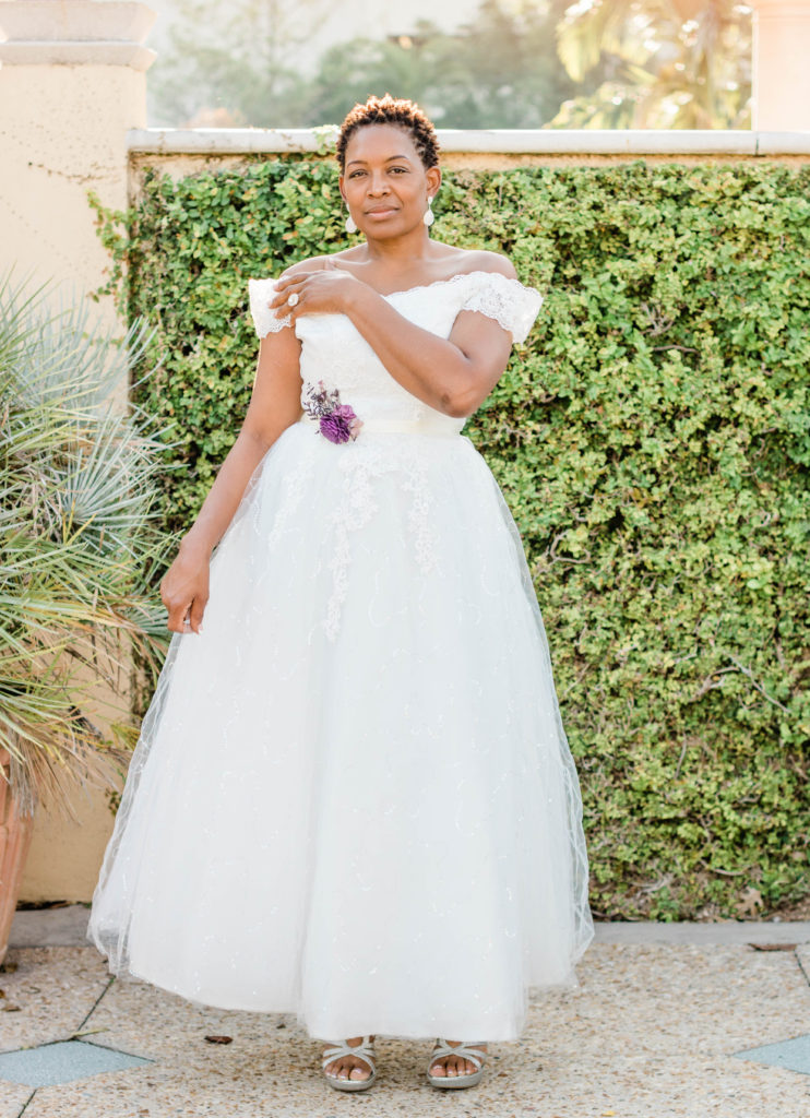 plus size Bridal Portraits