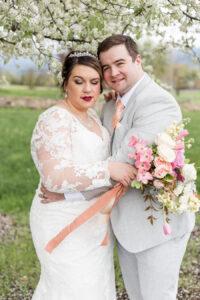 plus size bride, plus size wedding gown, gown