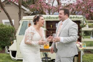 plus size bride, plus size wedding gown,