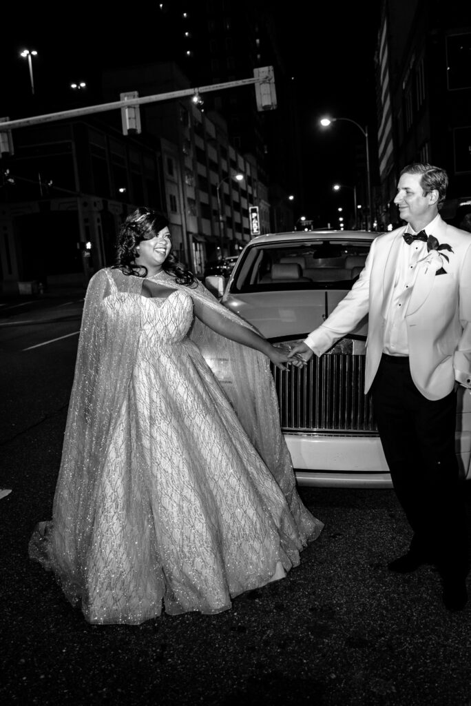REAL WEDDING  Glam and Regal Memphis Wedding Featuring the Grizzlie's Mascot Camille Leigh Photography   Pretty Pear Bride