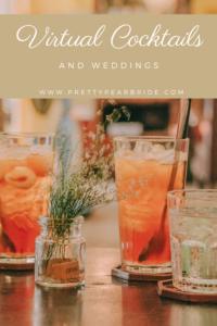 virtual cocktails, bourbon drinks, pineberry drinks,