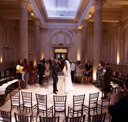 Real Wedding | Surprise Social Distancing Wedding|The Monarch Studio | Pretty Pear Bride