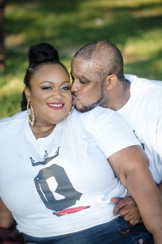 plus size engagement, plus size bride