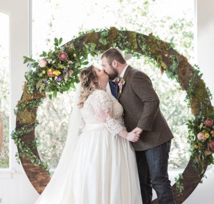 Real Wedding | Woodland Wonderland | C. Baron Photography | Pretty Pear Bride