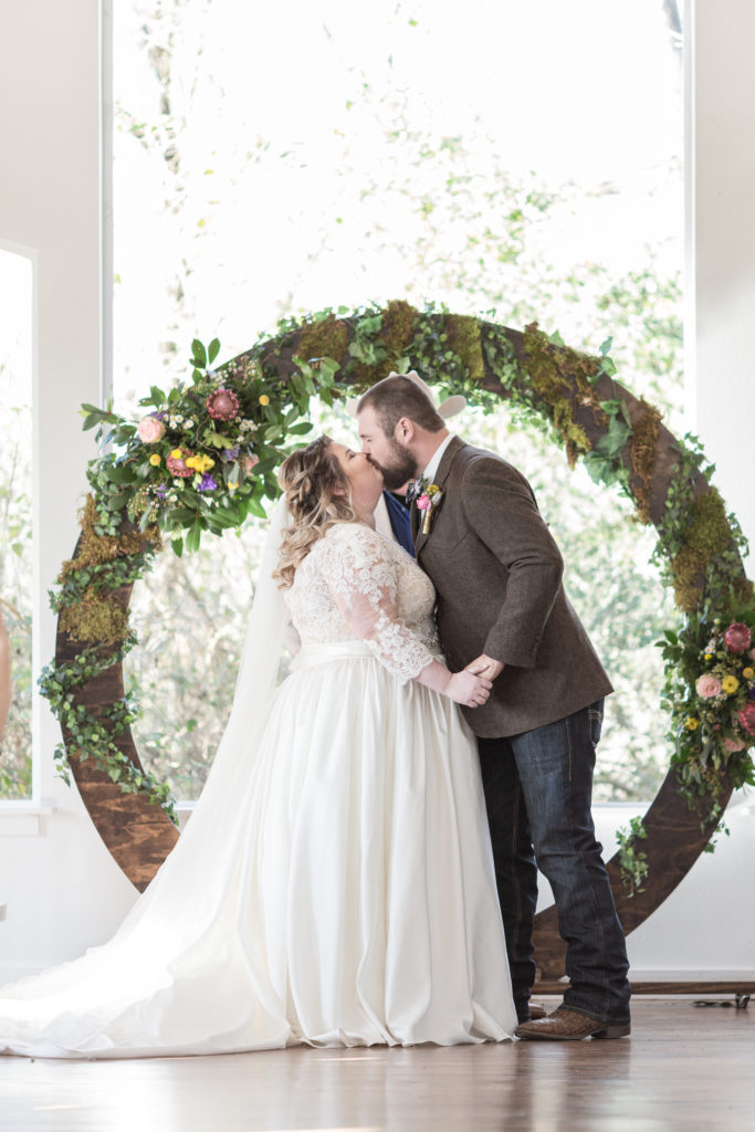 Real Wedding | Woodland Wonderland | C. Baron Photography | Pretty Pear Bride
