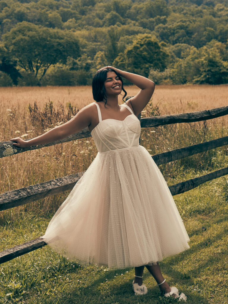 BHLDN's New Plus Size Wedding Dress and Bridesmaid Collection | Pretty Pear Bride