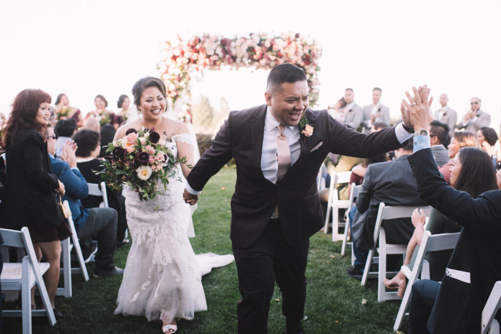 Real Wedding | Fall Wedding in the Bay Area With A Modern Look and Rustic Feel |Encarnacion Photography | Pretty Pear Bride
