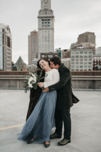 Real Wedding   Boston City Hall Wedding   Abigail Jean Photography   Pretty Pear Bride