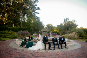 Real Wedding | Pandemic Norfolk Botanical Gardens Wedding | Ashley Vanley Photography | Pretty Pear Bride