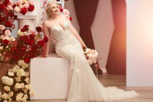 plus size bride, plus size wedding dress, David's Bridal Fall 2021 Collection