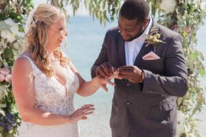 plus size bride, plus size wedding dress, destination wedding